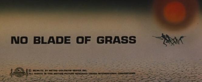 No Blade Of Grass (1970) opening credit title cornel wilder nigel davenport film movie