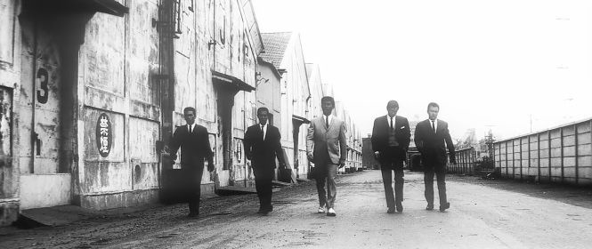 Tokyo Drifter (1966) Tarantino's Reservoir Dogs inspiration maybe gangsters