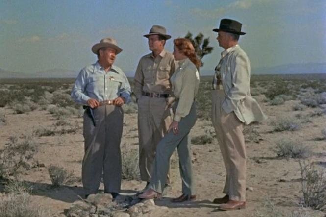 Inferno (1953)Rhonda Fleming William Lundigan sherrif search party