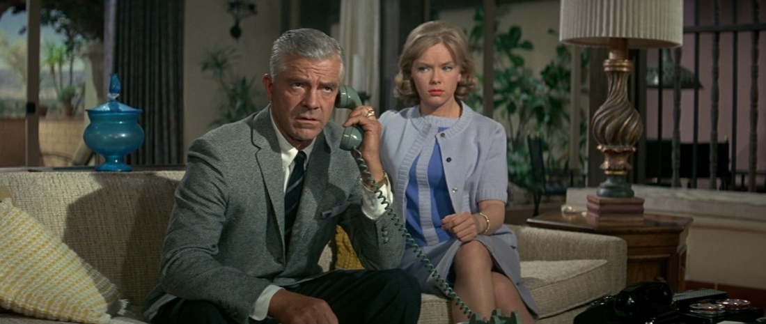 The Satan Bug (1965) General Williams (Dana Andrews) Anne Williams (Anne Francis)