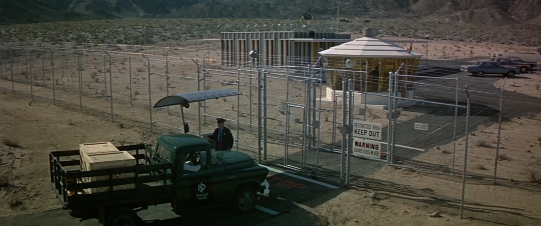 The Satan Bug (1965) top secret base nevada desert restricted area keep out