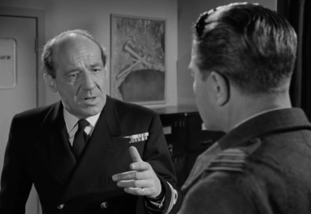 The Night My Number Came Up (1955) Commander Lindsay (Michael Hordern)