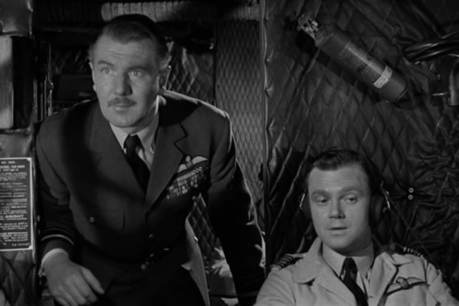 The Night My Number Came Up (1955) michael redgrave fate fear panic Nigel Stock pilot