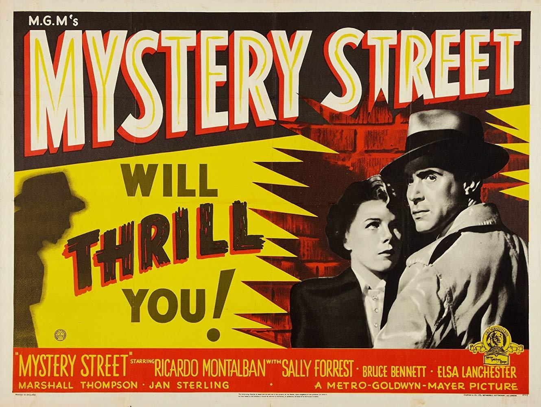 Mystery Street (1950) film movie poster ricardo montalban john sturges