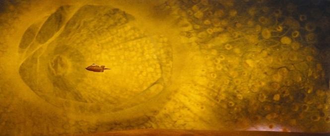 Fantastic Voyage (1966) submarine the Proteus journey through human body