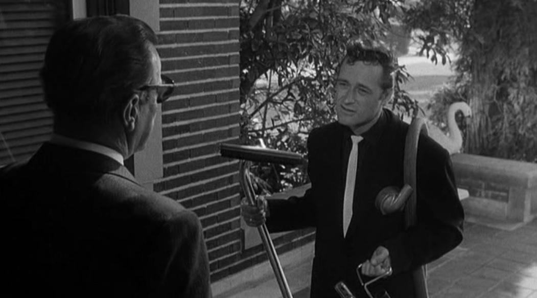 not of this earth (1957) roger corman sci-fi dick miller vacuum seller sales man