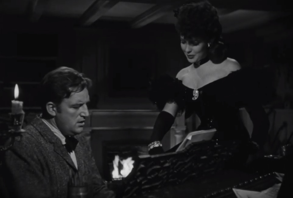 Hangover Square (1945) Laird Cregar Linda Darnell film noir piano singing