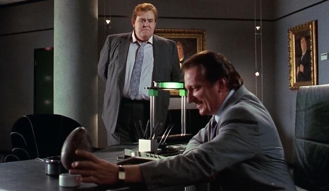Who's Harry Crumb (1989) John Candy and (Jeffrey Jones egg