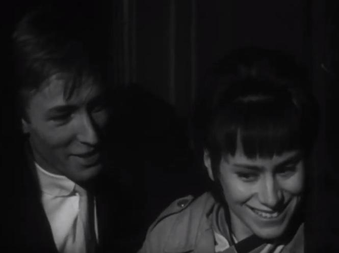 A Place To Go (1963) Rita Tushingham big smile Michael Sarne you wanna make love to me ricky